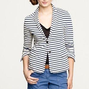 J.Crew striped sweater blazer (J9)